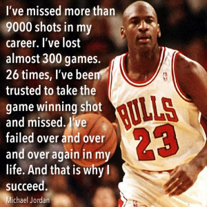 Michael Jordan - Failure Quote