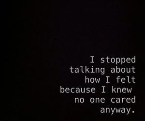 No one cares | via Tumblr
