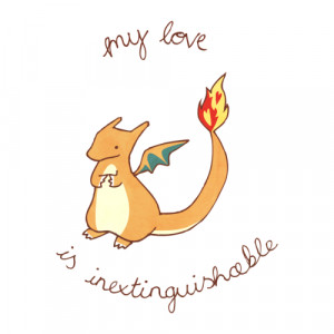 love pikachu pokemon cute adorable kawaii i love you eevee Valentine ...