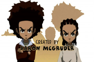 The Freeman Brothers Huey & Riley From Aaron McGruder's The ...