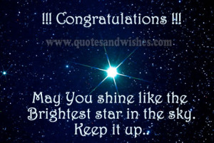 Job Promotion Congratulations Quotes http://www.quotesandwishes.com ...