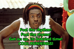 cool-runnings-movie-sanka-quote. First movie I ever saw with Sheldon ...