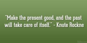 Knute Rockne Quote