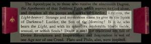 La palabra Illuminati significa Iluminado representando a Lucifer, el ...