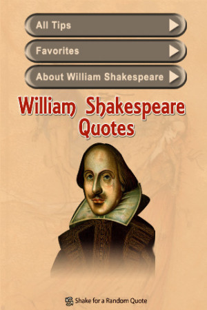 William Shakespeare Inspirational Quotes iPhone App & Review