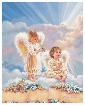 Angels watching over us.