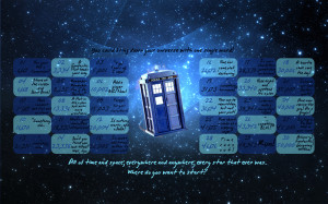 Doctor Who NaNo calendar? (request)