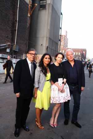 Creative Time Gala Honoring Julian Schnabel At Domino Sugar Factory 46
