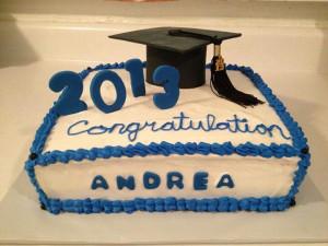 My niece's graduation! !