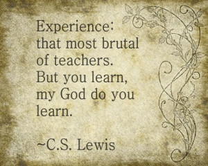 , Cs Lewis Quotes Experiment, Christian Quotes, Art Prints, Brass, C ...