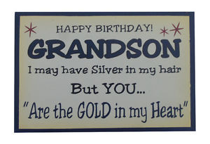 Happy Birthday Grandson Quotes http://www.ebay.co.uk/itm/1-x-Funny ...