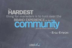 Eric Erwin Community quote: