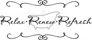 Relax Renew Refresh Tub