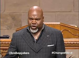 After watching Bishop T. D. Jakes yesterday we learned a lot about ...