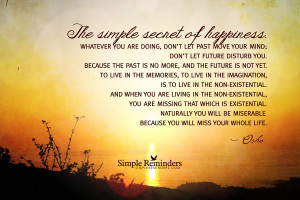 secret of happiness by osho secret of happiness by osho