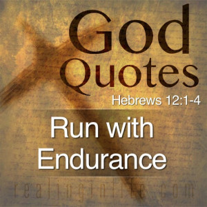 God Quotes: Run with Endurance