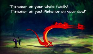 ... , disney, dragon, fantasy, funny, lizard, mulan, mushu, red, tiny