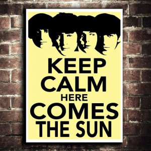 Here comes the Sun turururu :D