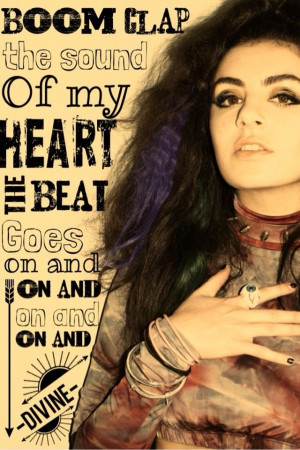 Charli XCX: Tfios Charli, Pop Lyrics Quotes, Boom Clap Lyrics, Pop ...