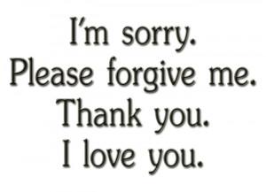 Please Forgive Me Quotes