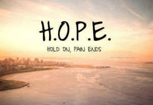 turn your life around fragile hope pain end by hope