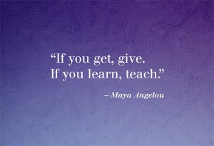 Inspiring Quotes From Maya Angelou