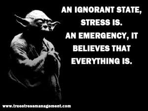 Stress Management Tips From Yoda