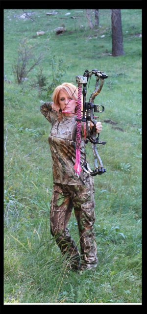 My Bow: Hoyt Charger in Realtree XTRA Camo, My Arrows: Pink Ted Nugent ...