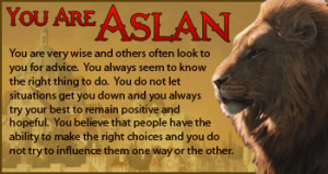 Chronicles Of Narnia Aslan Quotes