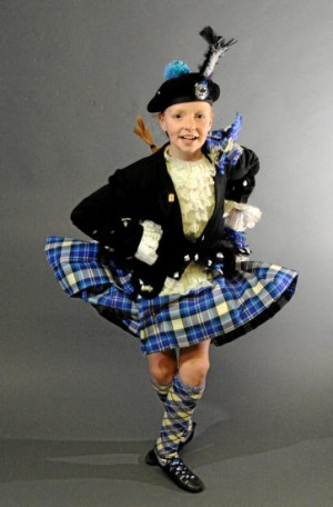 ... title in under-12 Scottish Highland Dancing. Picture: Jeremy Bannister