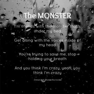 Rihanna Quotes From Songs Eminem ft rihanna - the