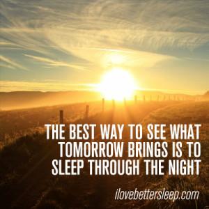 Love Better Sleep - Mornings