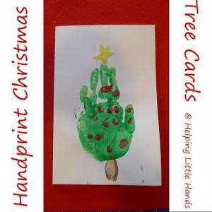 ... make handprints handprint santa christmas this christmas card post is
