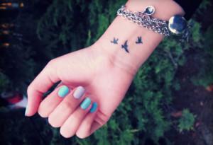 small bird tattoos Mind blowing Bird Tattoos