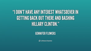 On several occasions, I discussed with Bill Clinton the subject of ...