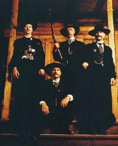 ... Morgan Earp, Sam Elliot as Virgil Earp and Kurt Russell as Wyatt Earp