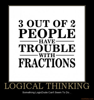 LOGICAL THINKING - Something LogicDude Can't Seem To Do...