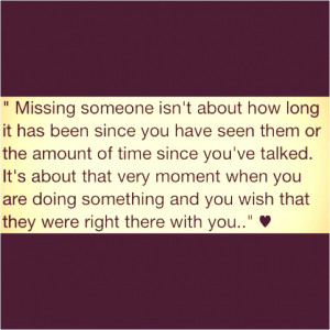 missing you, #miss you #love, #quotes