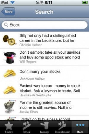 ... , Investment, Money, Business Quotes & Sayings) for iPhone screenshot