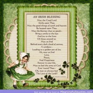 Irish St. Patrick's Day Quotes Archives - Meaningful quotes and ...