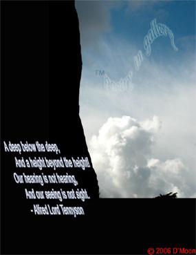 Poem in Art: A deep below the deep... - Alfred Lord Tennyson