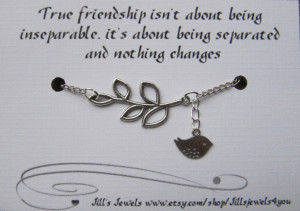 Friendship Distance Quotes Distance friendship charm