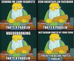 ... read this without hearing his voice ha ha # simpsons facebook lol