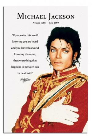 Michael Jackson Michael jackson quote & gorgeous picture
