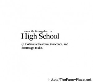 Quotes About High School Life Tumblr High School Reu...
