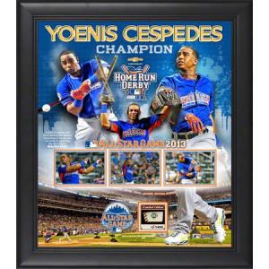 MLB - Yoenis Cespedes Framed 15x17 Collage | Details: 2013 Home Run ...