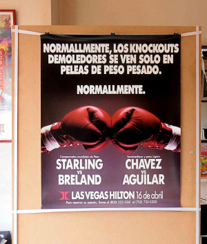 Cesar Chavez Quotes In Spanish Julio cesar chavez vs.