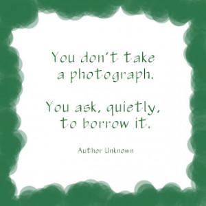 portrait photograph quotes, photography quotes.