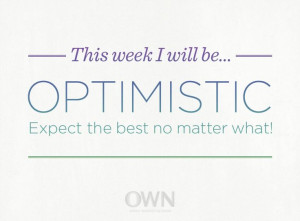 Start the week off right!#optimistic