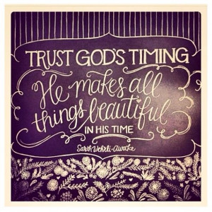 Trust God's timing: The Lord, Inspiration, Gods Time, Hairs Beauty ...